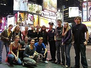 Sieboldianer am Times Square