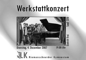 Kammerkonzert-Plakat
