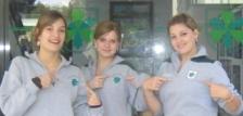 Katinka, Mona und Sina